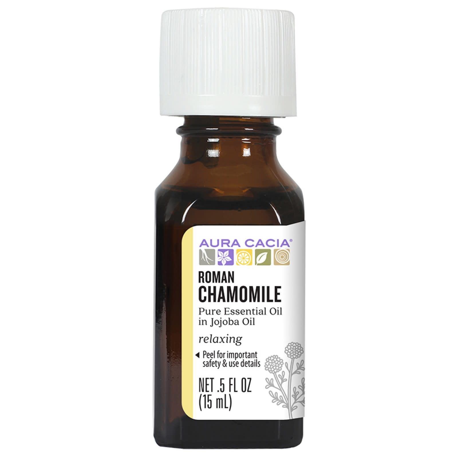 AURA CACIA Roman Chamomile Essential Oil