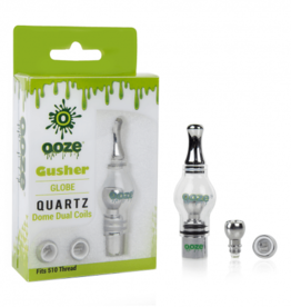 OOZE Gusher Glass Globe Atomizer 3 Coils
