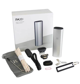 PAX 3 Vaporizer Silver Complete Kit