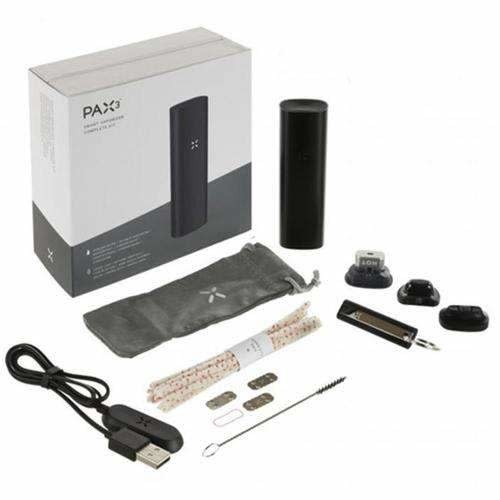 PAX 3 Vaporizer Black Complete Kit