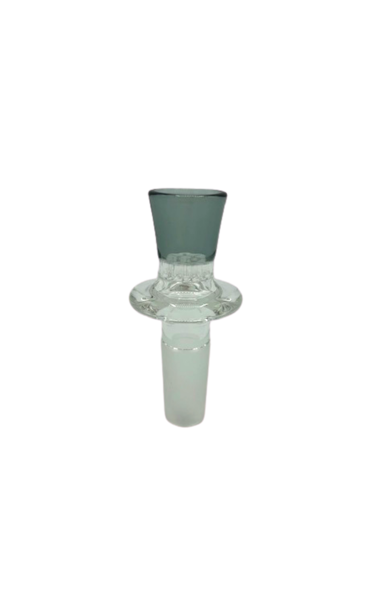 BBG Male 14mm Smoke Honeycomb Gong Slide