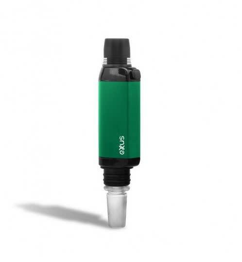 Exxus VRS 3 in 1 Rig, Collector, Vaporizer Green