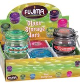 Fujima Glass Storage Stash Jar Assorted 150ml