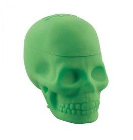 NoGoo Skulls Jar Green