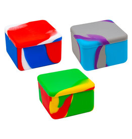 "2.25"" Large Silicone Square Container"