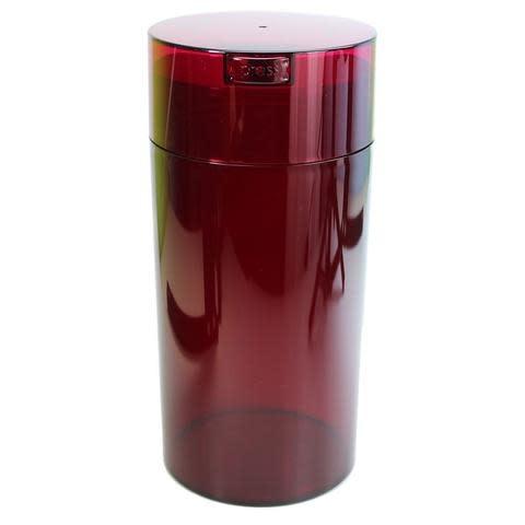 Tightvac 2.35 liter Red Tint Cap/Red Tint Body