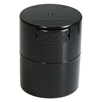 Minivac 0.12 liter Black Pearl Tint Cap/Black Tint Body