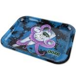 OOZE Metal Rolling Tray Small Kosmic Kraken