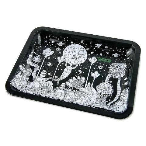 OOZE Metal Rolling Tray Large Dystopia