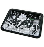 OOZE Metal Rolling Tray Medium Dystopia