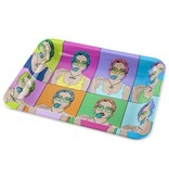 OOZE Metal Rolling Tray Small Candy Shop