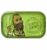 Zig Zag Rolling Tray Hemp Green