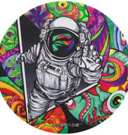 "Dab Pad 5"" Round Spaceman"