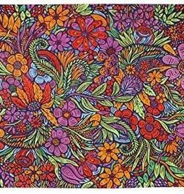 SJ 3D Mini Tapestry Lush Flower