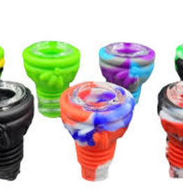 Silicone Bowl w/ Glass Insert 14/18mm