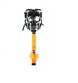 BIO Grinning Skull Gas Mask Pipe