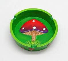 """4.25"""" Mushroom Ashtray"""
