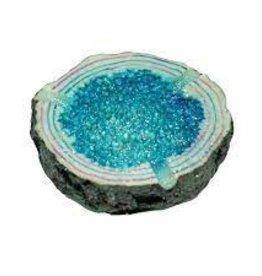 "4.5"" Sparkling Geode Ashray Blue"