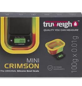 Truweigh Mini Crimson Collapsible Bowl Scale 100g x.01g - Rasta