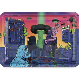 OOZE Metal Rolling Tray Small After Hours