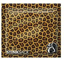 """Stink Sack Bag 7.5"""" x 7"""" 3pc Animal Print"""