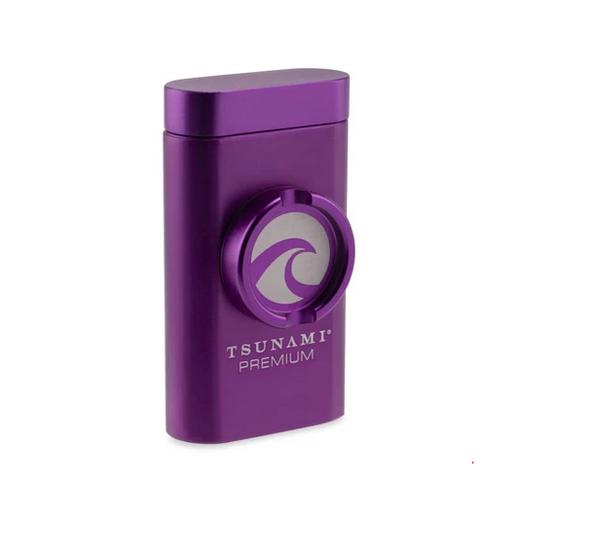 Tsunami Magnetic Dugout w/ Grinder Pink