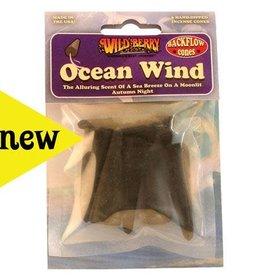 Wild Berry Incense Backflow Cones 6pk Ocean Wind