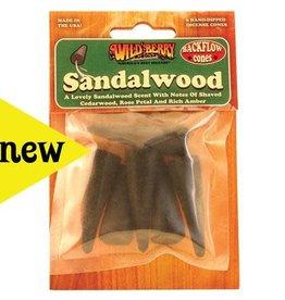Wild Berry Incense Backflow Cones 6pk Sandalwood