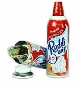 Reddi Whip Security Cansafe 13oz