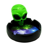 """4"""" Angry Space Alien Ashtray"""