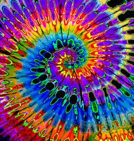 Feed A Hippie Tie-Dye Tapestry