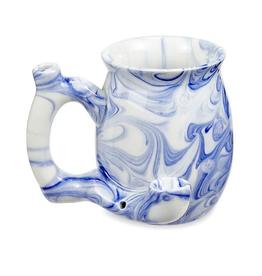 Roast & Toast Ceramic Blue Marble Mug Pipe