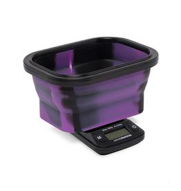 Truweigh Mini Crimson Collapsible Bowl Scale 100g x.01g - Black / Purple