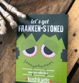 KushKard Frankenstoned Card + One Hitter