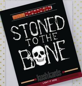 KushKard Stoned to the Bone Card + One Hitter