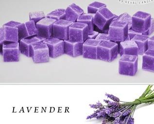 Wax Cubes Lavender Fragrance