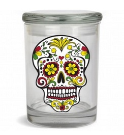 Stash Jar 300ml Skull
