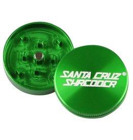 """SANTA CRUZ Grinder LG 2pc 2 3/4"""" Green"""