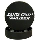 """SANTA CRUZ Grinder LG 2pc 2 3/4"""" Black"""