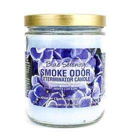 SMOKE ODOR Candle Blue Serenity