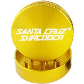 "SANTA CRUZ Grinder MD 2pc 2 1/8"" Gold"