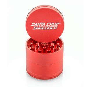 "SANTA CRUZ Grinder MD 4pc 2 1/8"" Red"