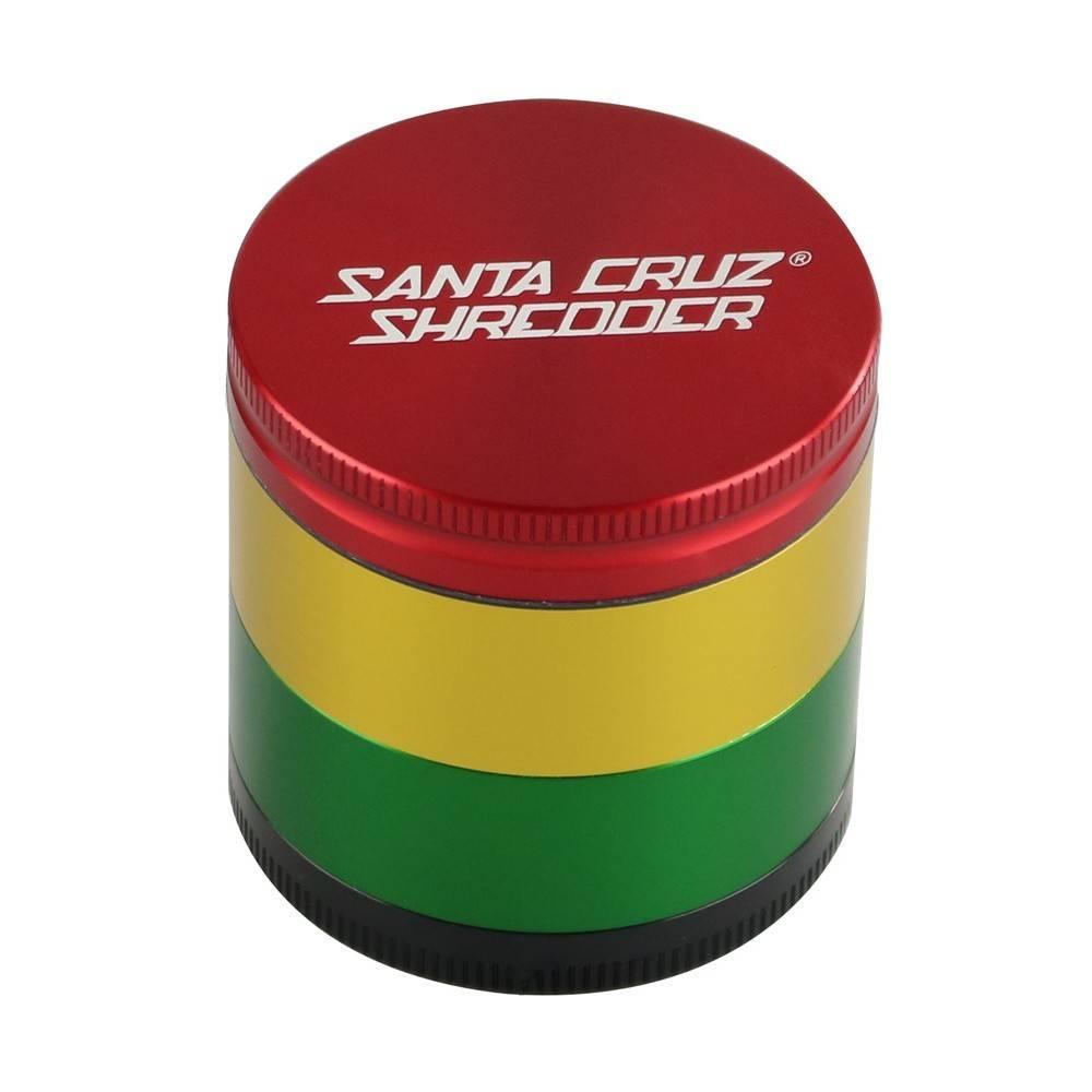 """SANTA CRUZ Grinder MD 4pc 2 1/8"""" Rasta"""
