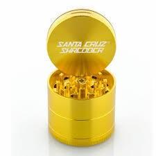 "SANTA CRUZ Grinder MD 4pc 2 1/8"" Gold"
