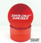 "SANTA CRUZ Grinder LG Red 4pc 2 3/4"""