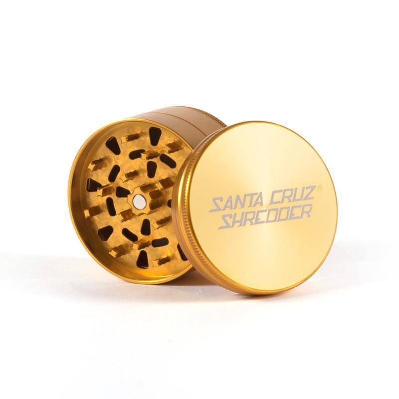 """SANTA CRUZ Grinder LG Gold 4pc 2 3/4"""""""