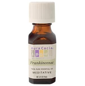 AURA CACIA Frankincense Essential Oil 0.5 fl. oz.
