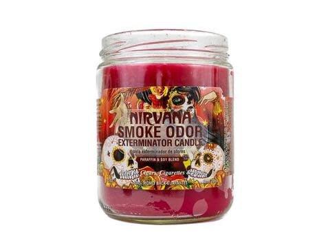 SMOKE ODOR Candle Nirvana