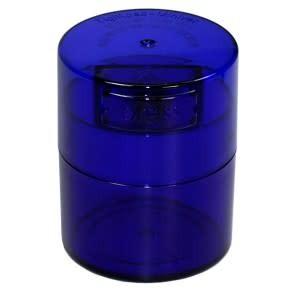 MiniVac 0.12 liter  Blue Tint Cap/Blue Tint Body