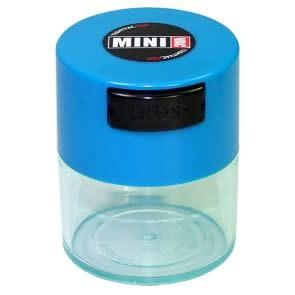 MiniVac 0.12 liter Blue Cap/Clear Body
